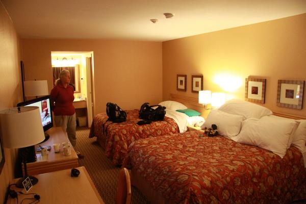 Onze hotelkamer for Hotelkamer